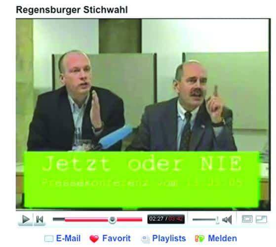 Bissig: Mit seinen beiden Videos zur Stichwahl dürfte der Journalist Hubertus Wiendl (wieder einmal) anecken.