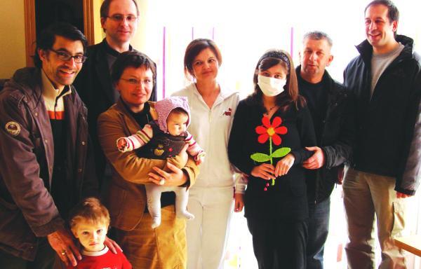 Bereits am 3. März konnte die zwölfjährige Sumeja Karameth aus der Kinder-Uniklinik entlassen werden. vor rund zwei Monaten erhielt sie eine lebensrettende Lebertransplantation.Foto: pm
