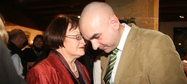 Dominanz seit Jahrzehnten: Margit Kunc und Jürgen Mistol. Foto: Archiv/ Staudinger