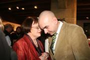 Die Grünen-Stadträtin Margit Kunc und der OB-Kandidat Jürgen Mistol – für die Grünen sind mehr Sitze im Stadtrat sicher.