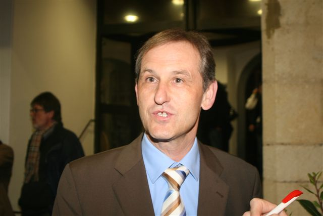 Ludwig Artinger, Richter, OB-Kandidat der FW, hat der FW ein dickes Plus beschert.