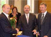 Groß war die Nervosität im Vorfeld. Doch es lief alles glatt. Joachim Wolbergs und Gerhard Weber wurden mit sicheren Mehrheiten zu Bürgermeistern gewählt.   Foto: Aigner