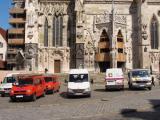 Parkplatz Westportal. Doch ist gibt weit Ärgerlicheres rund um den Dom.