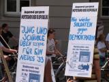 Radl-Demo der Falken am 31. Mai. Foto: Archiv