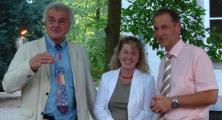 Ab Ende August in Sachen Wahlkampf unterwegs: Günther Riepl, Regina Lohde und Ludwig Artinger. Foto: Aigner