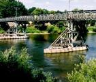 Der neue Favorit? Eine Brücke anstelle des Eisernen Stegs? Foto: Archiv