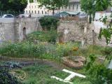 Eine kleine Attraktion: Der Garten am Peterstor. Fotos: as