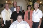 Der Vorstand der Regensburger RRP (v.l.): Herrmann Eberwein, Axel Scholibo, Rainer Schweiger, Herrmann Vogel, Emma Kirschenhofer, Ferdinand Frummet. Foto: Mirwald