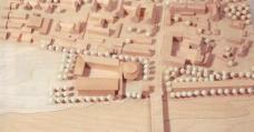 Nicht vorstellbar: Standort Ladehofstraße an der Kumpfmühler Brücke. Modell: Stadt Regensburg