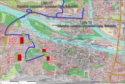 Die neuen Routen der Landkreislinien 13 und 17. Grafik: Landkreis Regensburg