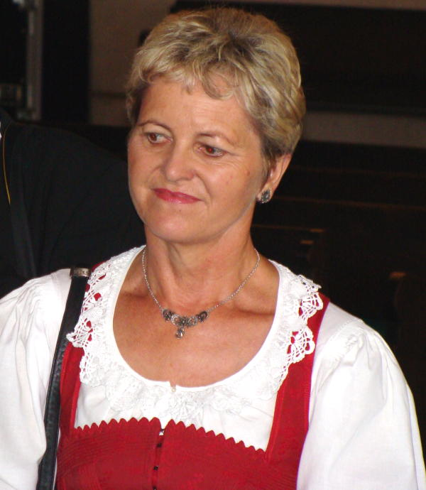 Maria Eichhorn. Foto: Archiv