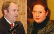 Werden beide doch noch Freunde? Martina Dräxlmeier hat Christian Schlegl einen (geforderten) Brief geschrieben ...