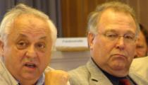 Norbert Hartl und Herbert Schlegl legten für ihre Fraktionen dar, warum sie den nun beschlossenen Wettbewerb für gut halten. Foto: Archiv
