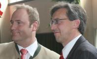 Um diese beiden geht es eigentlich: Christian Schlegl und Franz Rieger kämpfen weiter um die Macht in der regensburger CSU. Foto: Archiv/Staudinger