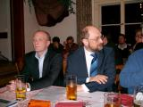 Genossen: Joachim Wolbergs und EU-Paralamentarier Martin Schulz. Foto: Wittmann