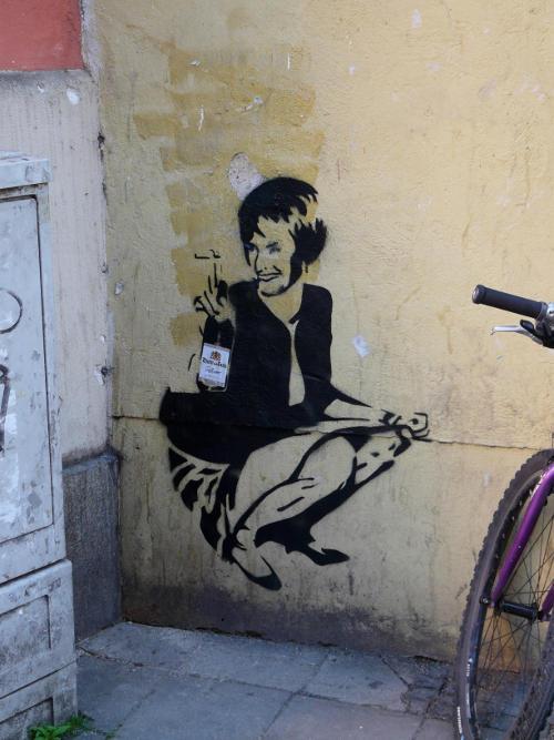 Kunst oder Webung: Wo hockt Fürstin Gloria?
