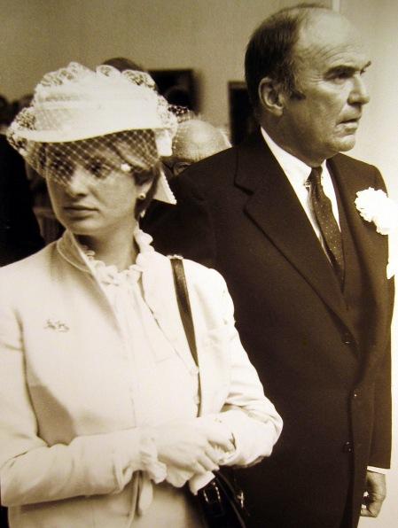 Gloria von Thurn und Taxis an der Seite ihres Mannes, Johannes Prinz von Thurn und Taxis. Foto: wikipedia