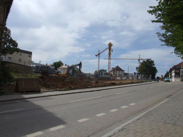 Bald schön bunt und ganz schön lukrativ: Bebauung am Galgenberg.