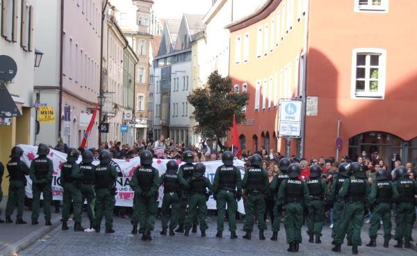 Blockiert: Die Fröhliche-Türken-Straße. Foto: as