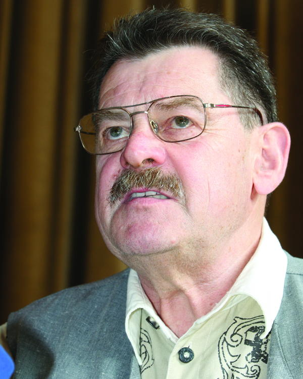 Rudi Eberwein, Stadtrat, Schlegl-Lager. Foto: Staudinger