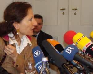 Vermittelte ein Gespräch zwischen Auer und seinem Täter: die mittlerweile verstorbene Missbrauchsbeauftragte Birgit Böhm. Foto: Archiv