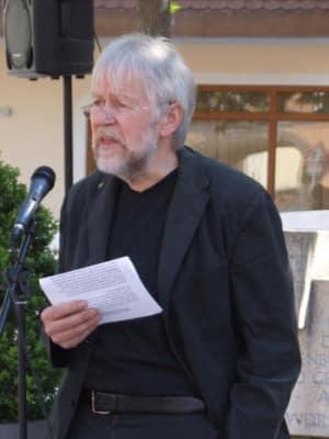 Kämpft seit 1982 für ein würdiges Gedenken: Hans Simon-Pelanda. Foto: Archiv