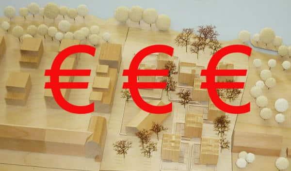 Das Siegermodell für die Bebauung am Unteren Wöhrd. Wie viel lässt sich mit dem günstig gekauften Grundstück verdienen? Wie viel Geld hat die Stadt verschenkt?