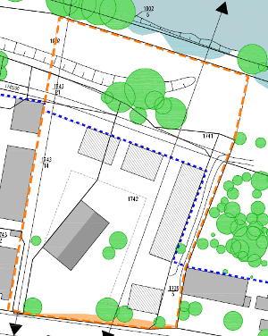 Der Plan, der den Stadträten im Juli 2009 im Stadtrat vorgestellt wurde.