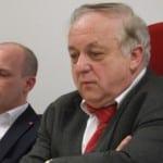 Wollen sich zu der Millionenklage gegen die Stadtbau nicht äußern: Oberbürgermeister Wolbergs und SPD-Fraktionschef Hartl. Foto: Archiv