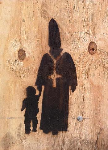 Papst-Streetart