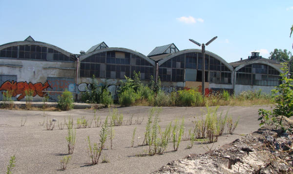 Der Alte Schlachthof: Entsteht hier auch ein genossenschaftliches Projekt? Foto: Archiv/ Tilmann Riechers