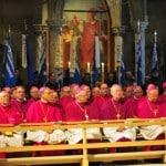 """""""Jeder Bischof kann sich querstellen."""" Die Deutsche Bischofskonferenz (hier bei der Frühjahrstagung in Regensburg). Foto: Archiv/ Staudinger"""