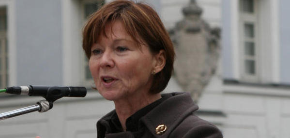 """""""Damit hat sich Herr Blomeyer disqualifiziert"""", sagt die Abgeordnete Margit Wild. Foto: Archiv."""
