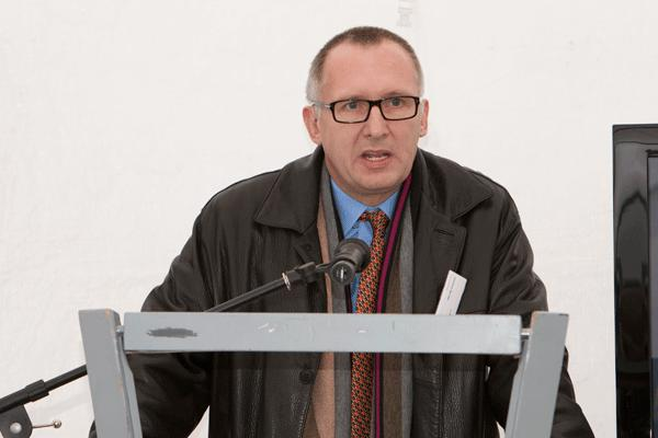 Wegen seiner Mietpolitik immer wieder in der Kritik: Stadtbau-Geschäftsführer Joachim Becker. Foto: Archiv/ Mirwald