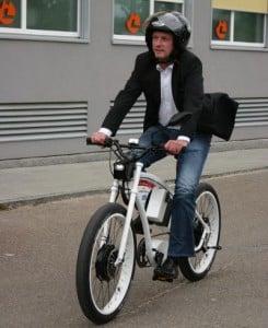 Joachim Wolbergs radelt