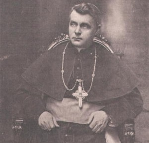 Protegierte Zimmermann: Bischof Michael Buchberger.