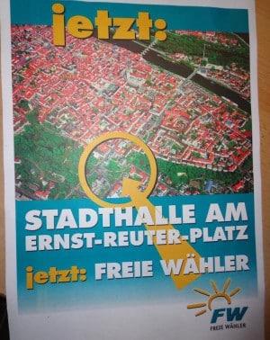Früher war der Freie Wähler-Stadtrat Günther Riepl ein einsamer Rufer in der Wüste: Jetzt ist die Mehrheit im Stadtrat für den Standort.