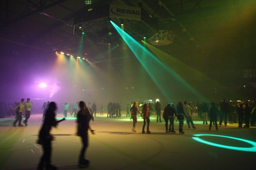 Donau Arena Regensburg Eislauf
