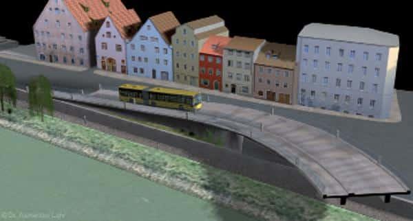 Ein Monstrum: Visuelle Darstellung der Westtrasse durch den Verein Donauanlieger