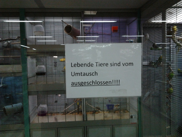 Regensburg Zoohandlung