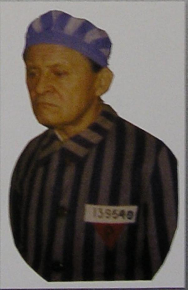 Der KZ-Häftling Franciszek Znamirowski.