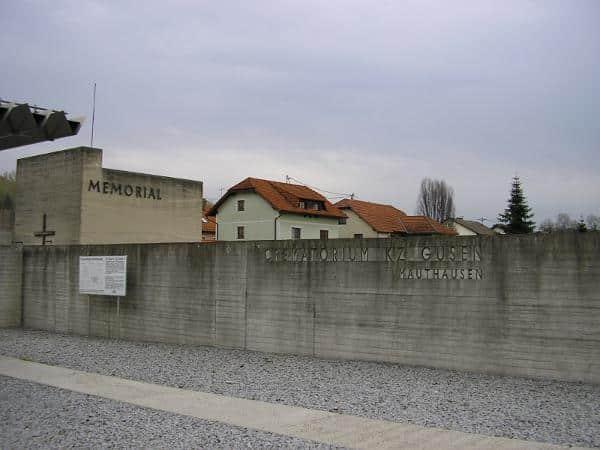 Produktionsstätte für die Regensburger Messerschmitt GmbH: Das ehemalige Konzentrationslager Gusen in Österreich. Foto: Werner