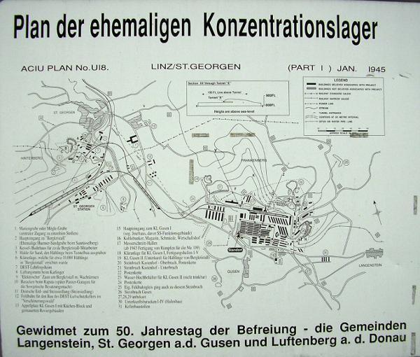 Das Lagersystem von Gusen.