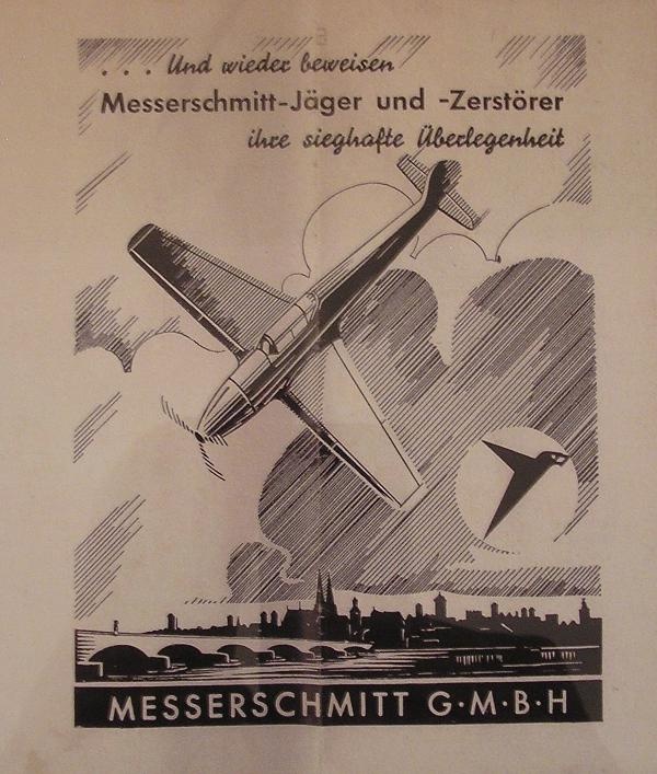 Der Solz von Regensburg: Messerschmitt-Propaganda im Programm des Stadtteaters.