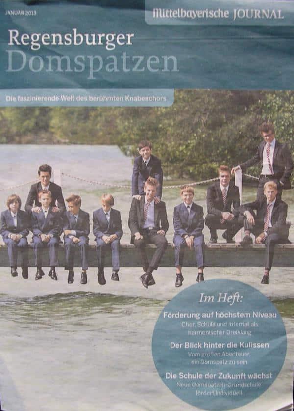 Im Januar in der MZ: 16seitige Werbebeilage für die Regensburger Domspatzen.