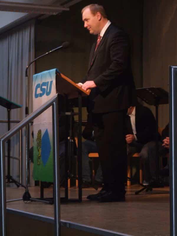 Christian Schlegl ist der Wunsch-Nachfolger von OB Hans Schaidinger. (Foto: hb)