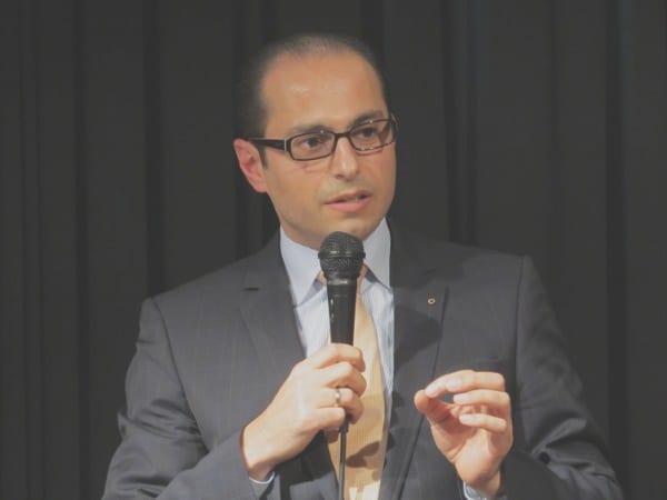 Mahmoud Al-Khatib - seine Absetzung wird immer mehr Thema parteipolitischer Auseinandersetzungen. Foto: Lukas Böhnlein