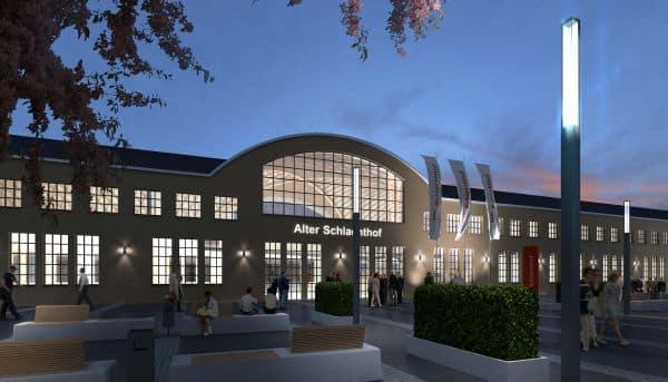 Simulation des geplanten Veranstaltungszentrum im Alten Schlachthof. (Stadt Regensburg)