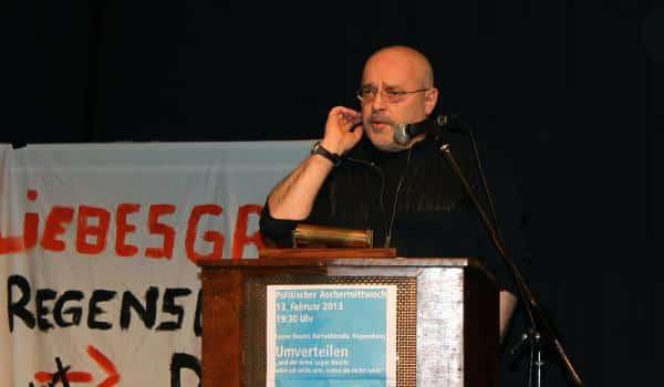 Fordert von den Gewerkschaften mehr Systemkritik: Wolfgang Veiglhuber. Fotos: Liese