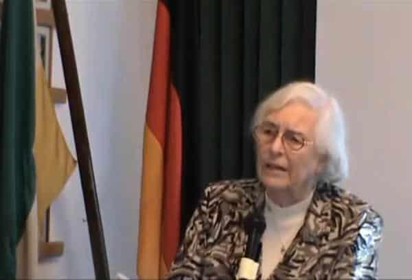 Auch bei Burschenschaften ein gern gesehener Gast: Christa Meves.
